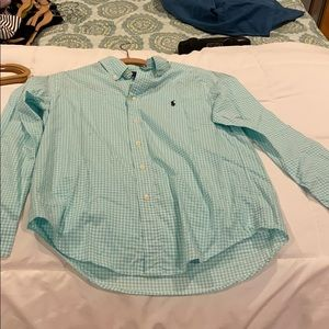 Ralph Lauren kids / boys long sleeve button down.